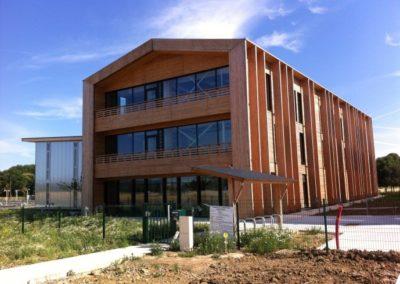 Construction d'un écopole à Moissy-Cramayel (77)