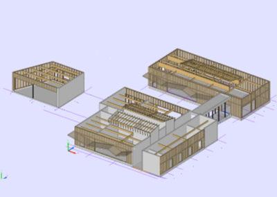 Construction d'un pole scolaire à gennes (49)